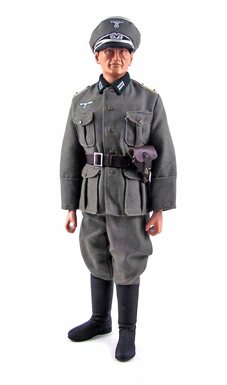 German Wehrmacht Lieutenant 1 6 Scale Collectible Elite