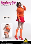 Mystery Girl Series 2 Outfit & Sculpt Set<BR>(Orange Version)