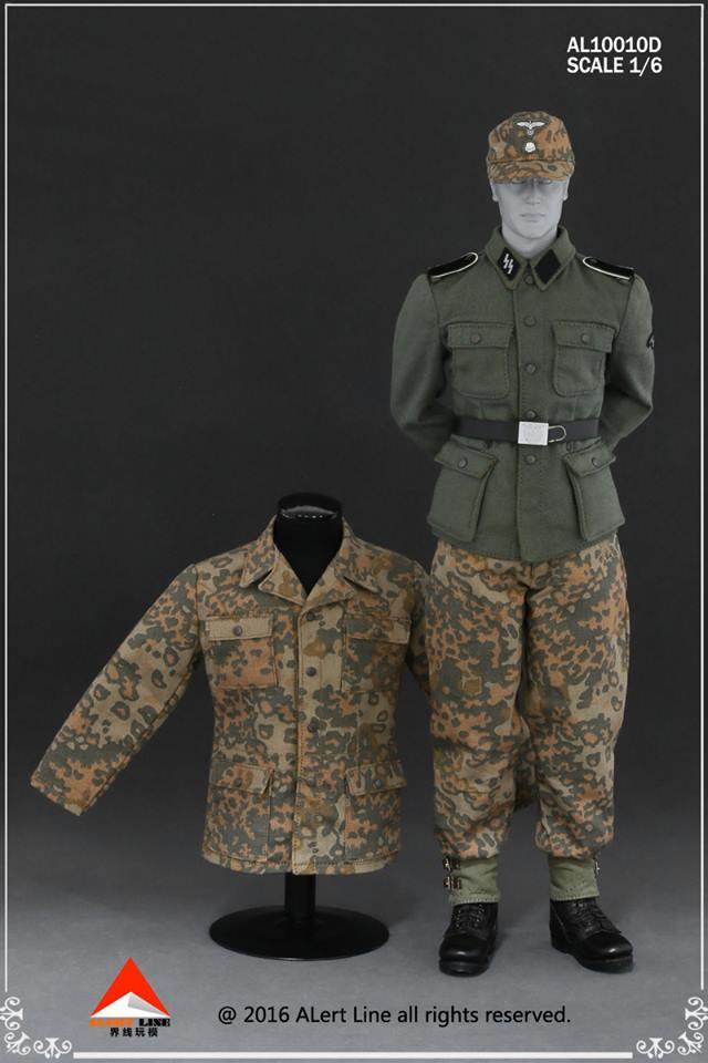 german camo uniform set oak leaf camo 16 scale axis