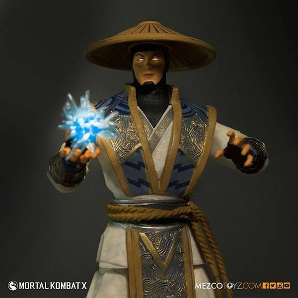 Mortal Kombat X Raiden (1:12) - Pop Culture Video Games ...