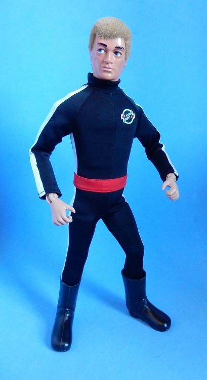 Lost Scientist Jumpsuit Black 1 6 Scale Male Civilian