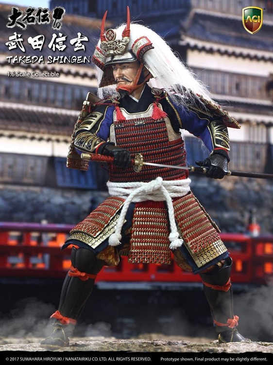 Takeda Shingen Regular Edition One Sixth Collectible