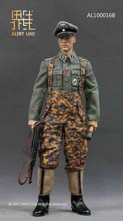 Waffen SS Officer Uniform Set | 1:6 Scale German WWII ...