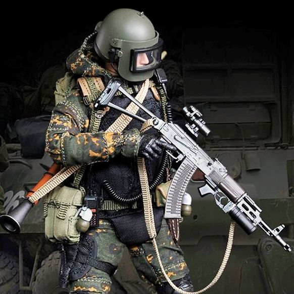 Russian Alpha Special Forces (Grenadier 1:12 Scale)<BR>PRE-ORDER: ETA Q1 2020