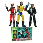 8 Inch Deluxe Wolverine Figure and Outfits Set<BR>(1:9 Scale)<BR><B>Save $30!</B>