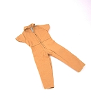 AT Style Short-Sleeve Jumpsuit<BR>(Tan)<BR>