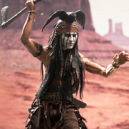 Johnny Depp as Tonto (The Lone Ranger)<br><b>Save $55!!</b>