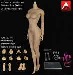 Female Seamless Body<BR>(Natural Skin/Large Bust Size)<BR>PRE-ORDER: ETA Q2 2017<BR>WAIT LIST
