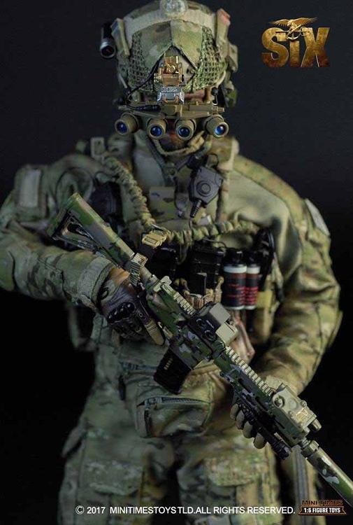 Extrêmement US Navy SEAL Team 6 (MultiCam)   1:6 Modern Military Figures  YS66
