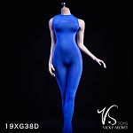 Female Bodysuit without Sleeves (Blue)<BR>PRE-ORDER: ETA Q2 2019