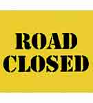 Sign: Road Closed