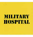Sign: Military Hospital