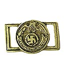 Belt Buckle: German SS Officer<BR>VERY LOW STOCK