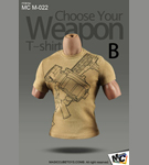 Choose Your Weapon T-Shirt<BR>(Version B)<BR>