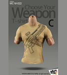 Choose Your Weapon T-Shirt<BR>(Version C)<BR>