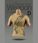 Choose Your Weapon T-Shirt<BR>(Version D)<BR>
