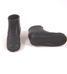 Action Man Short Black Boots- Grooved Bottom