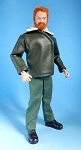 Action Man-Style Tanker Jacket (Green)<BR>