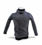 German Gray Sweater<BR>