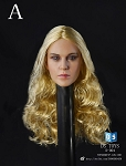 Caucasian Female Head Sculpt (Version 2/Blonde)<BR>