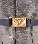 Belt: Civil War-Officer, Rectangular Brass Eagle