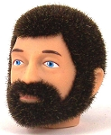 Head - Jake Brown Fuzzy with Beard<BR>