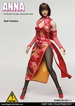 'Anna' Qi Pao Outfit<BR>with Head Sculpt<BR>(Red Version)<BR>PRE-ORDER: ETA Q2 2017