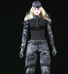 Black Python Tactical Outfit Set (Female)<br><b>Save $5!!</b>