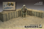 Military Defensive Barrier Set<BR>PRE-ORDER: ETA Q2 2017