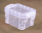 Lidded Box (Clear, LARGE)<BR>
