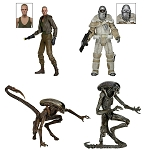 Aliens<BR>Series 8 Assortment<BR>Set of 3 Figures<BR>(1:10 Scale)<BR>