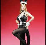 Female Bunny Outfit (Black).  <br><b>Save $6!!</b>