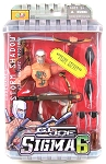 GI Joe Sigma 6 Code Name: Storm Shadow w/Shouri Crossbow (8 inch)