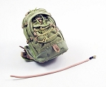 Backpack with Water Hose<BR>