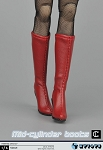 Calf High Boot/Feet<BR>(Red)<BR>PRE-ORDER: ETA Q2 2017