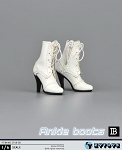 Ankle High Boot/Feet<BR>(White)<BR>PRE-ORDER: ETA Q2 2017