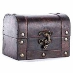 Wooden Trunk (Large, Brown)