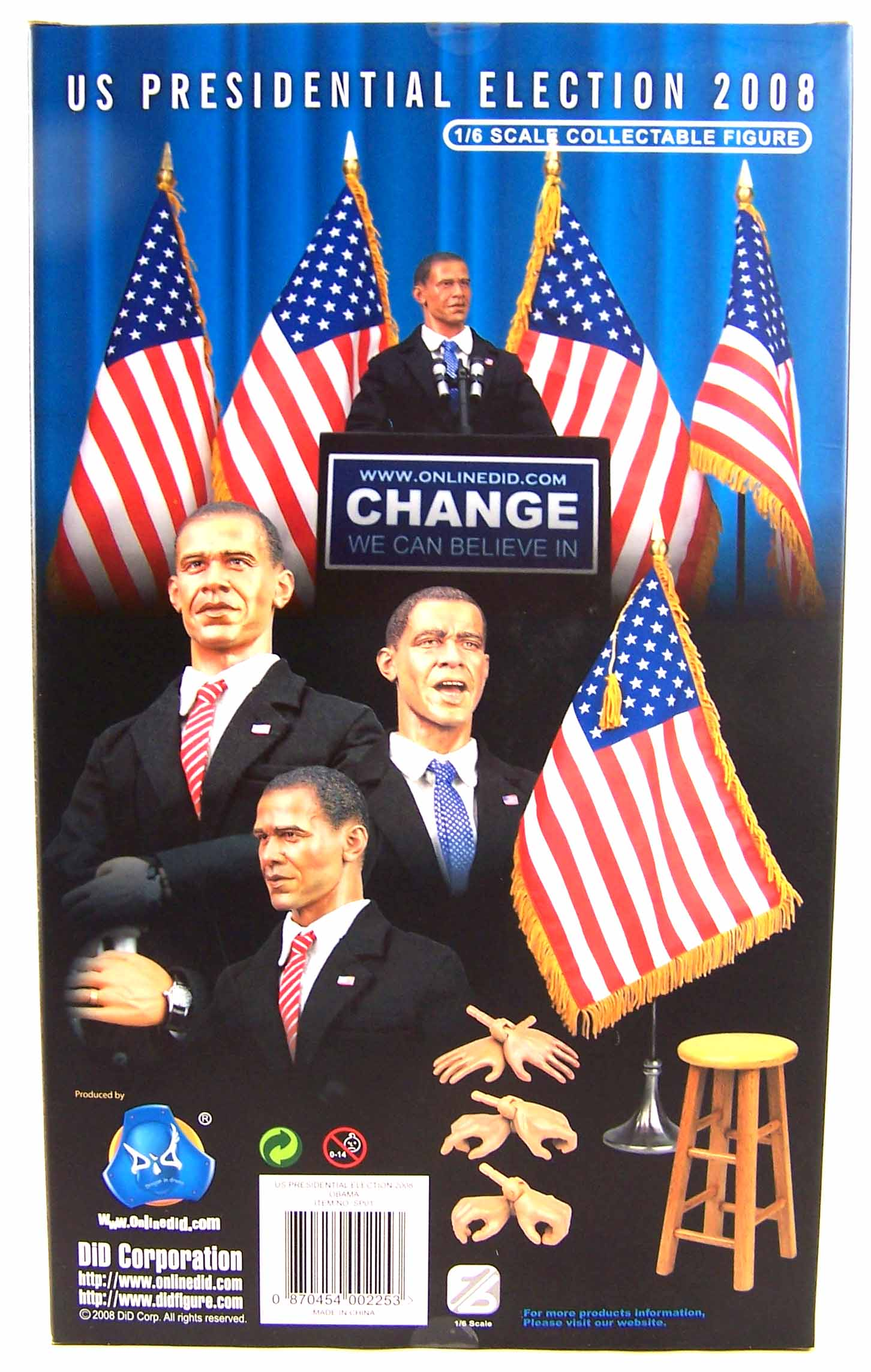 1//6 Scale Action Figures Microphone DID USA President Barack Obama