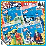 8-Inch Retro Super Powers Series 2 - Batman - Set of 4 Figures