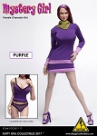 Mystery Girl Series 2 Outfit & Sculpt Set<BR>(Purple Version)