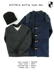 Blue Duffle Coat Set (Long)<BR>