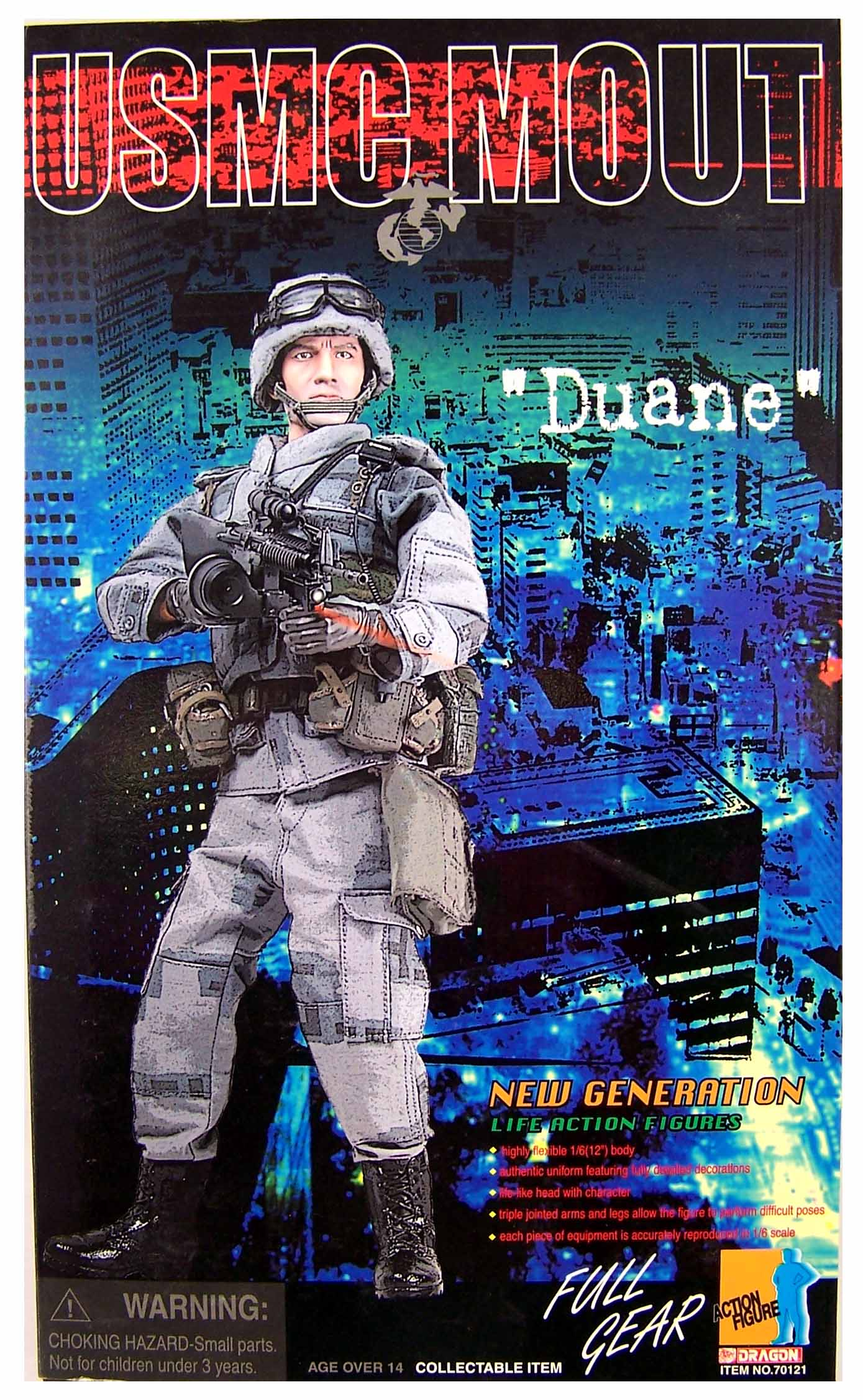 Technology Management Image: 1/6 Scale US Modern Military Figure