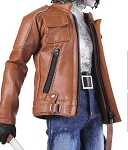 Machete Biker Outfit Set (Brown) <br><b>Save $15!!</b>