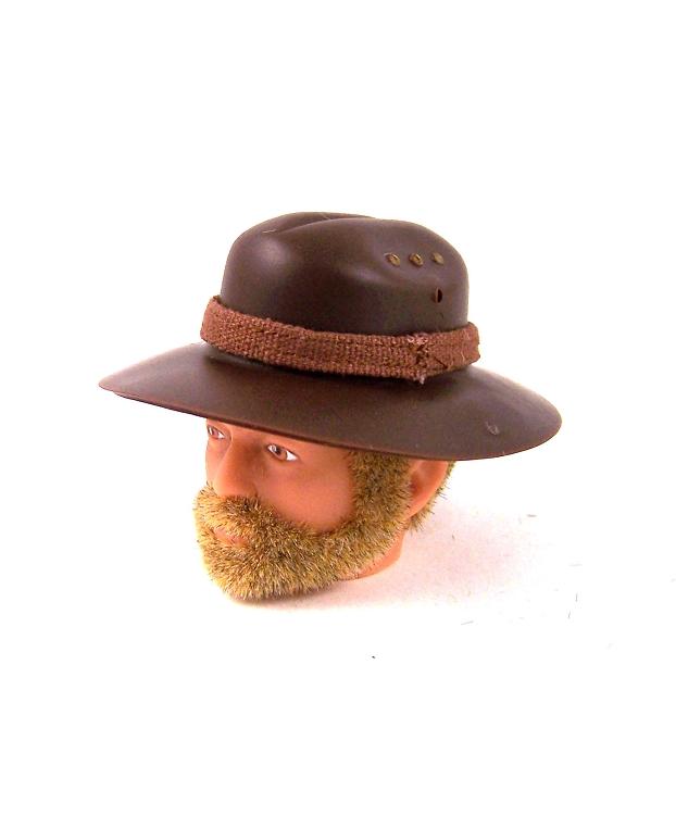 "NEW GI JOE DARK BROWN AUSTRALIAN BUSH HAT FOR 12/"" ACTION FIGURE 1//6 SCALE"