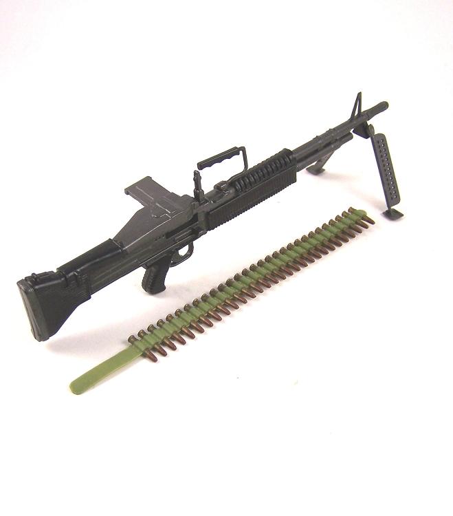 """Nouveau GI JOE FUSIL M60 pour 12/"""" Action Figure arme accessoire pistolet échelle 1//6"""