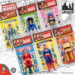Retro DC Comics <BR>Action Figures Set (1:9)<BR> (Kresge Style, Series 1)<Br>