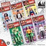 Retro DC Comics <BR>Action Figures Set (1:9)<BR> (Kresge Style, Series 2)<Br>