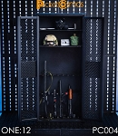 Weapons Cabinet/Locker (1:12 Scale)<BR>PRE-ORDER: ETA Q3 2019