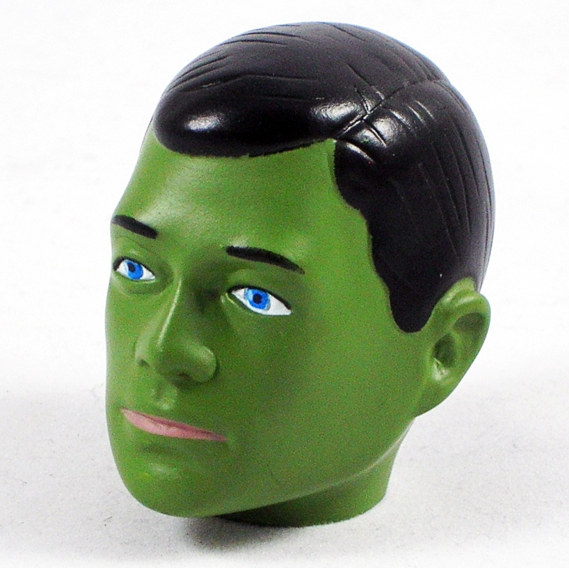 Head - Jake<BR>(Green Face)