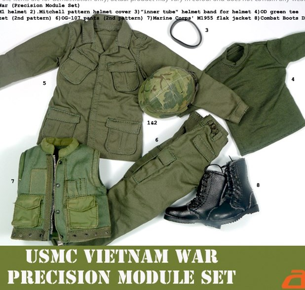 Vietnam Era US Uniform Set<BR>PRE-ORDER: ETA Q1 2020
